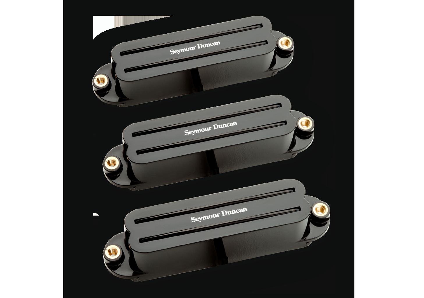 Seymour Duncan Hot Rails Strat SHR-1 - Set Black