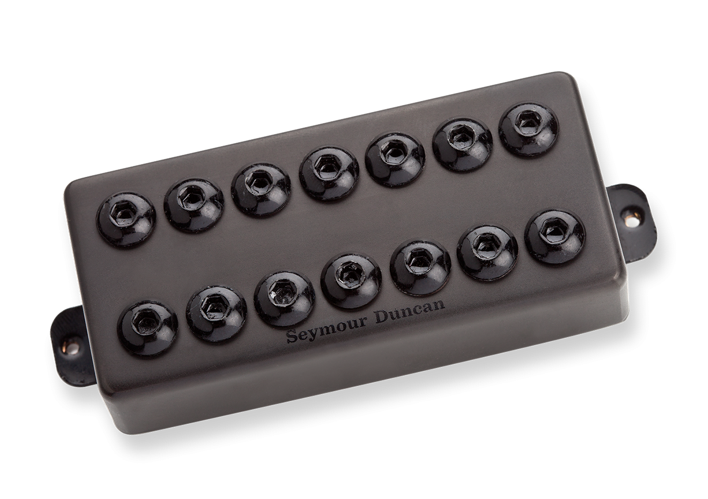 Seymour Duncan Invader Humbucker - SH-8B 7 String Bridge Passive Mount Black Metal
