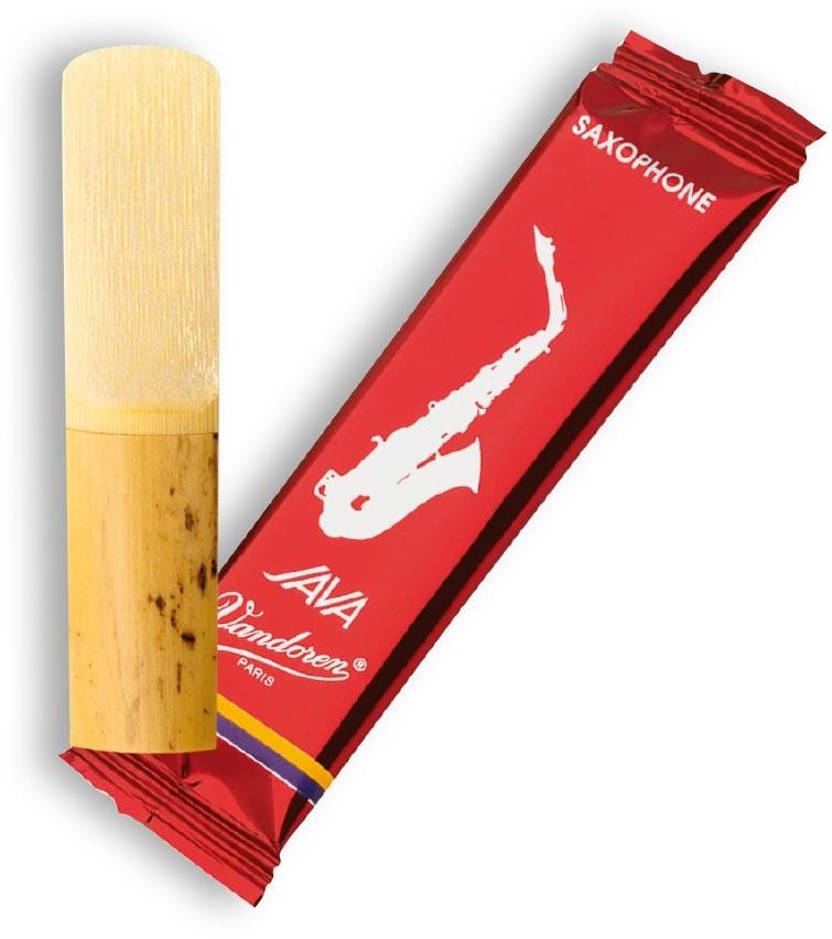 "Vandoren Java ""Filed - Red Cut"" Alto Saxophone Reeds"