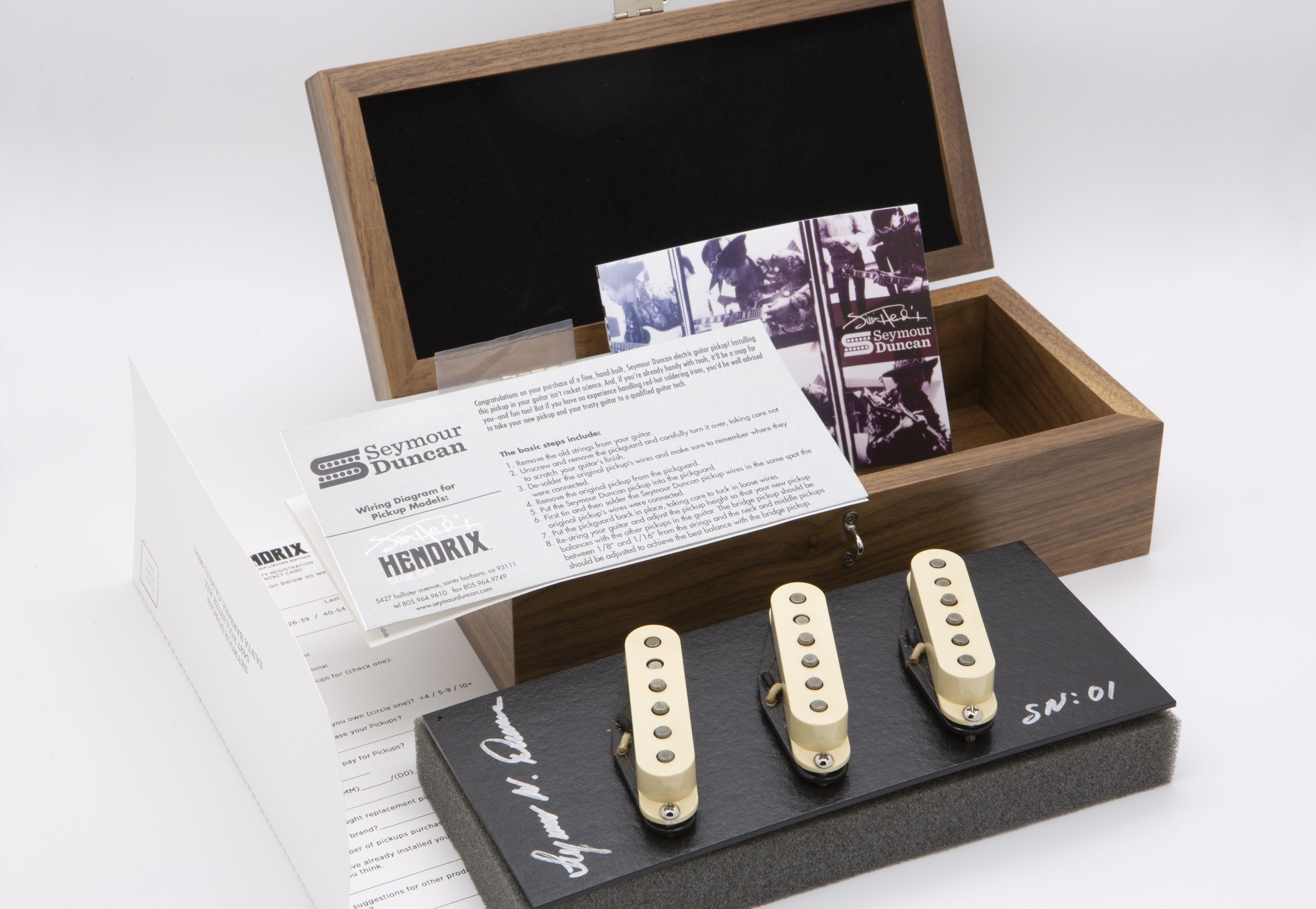 Seymour Duncan Hendrix Custom Shop Limited Edition Box Set