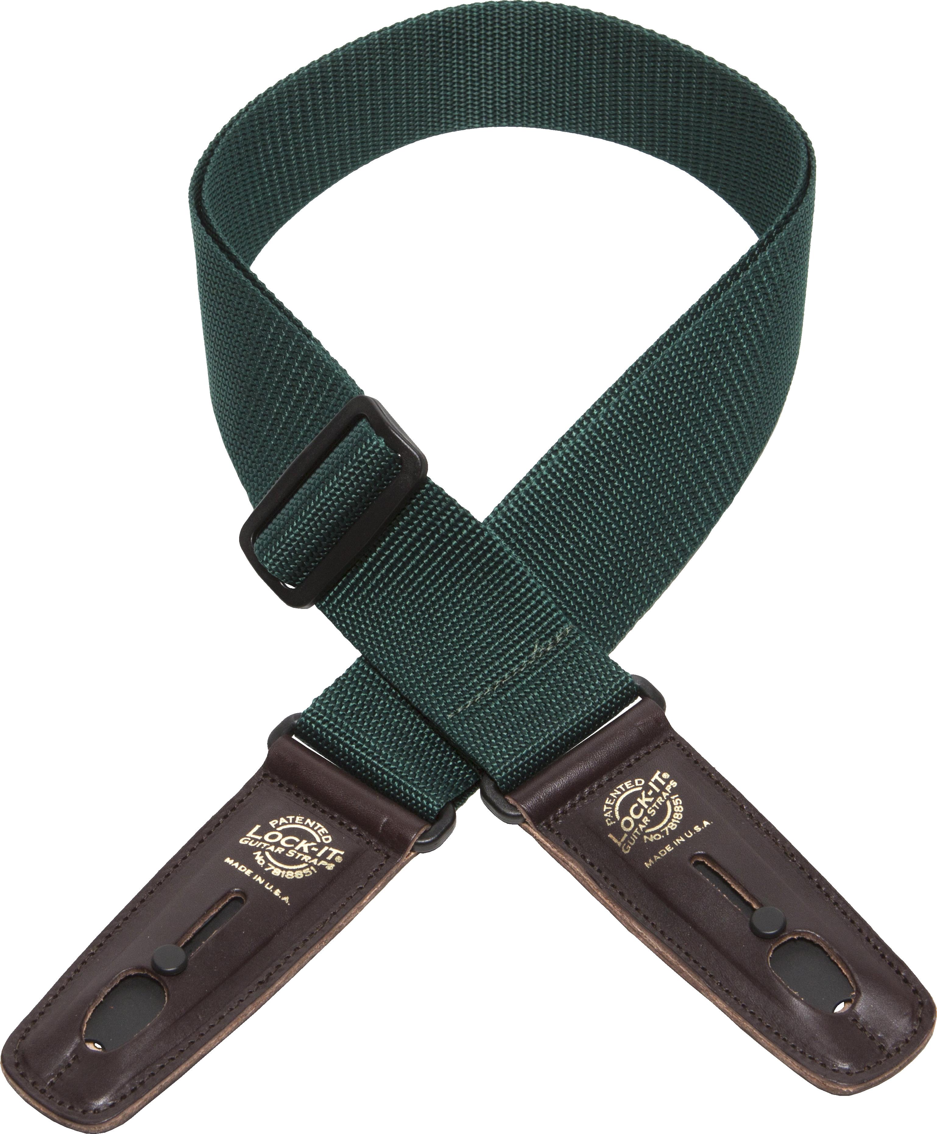Lock-It 2 Inch PolyPro Strap - Dark Green