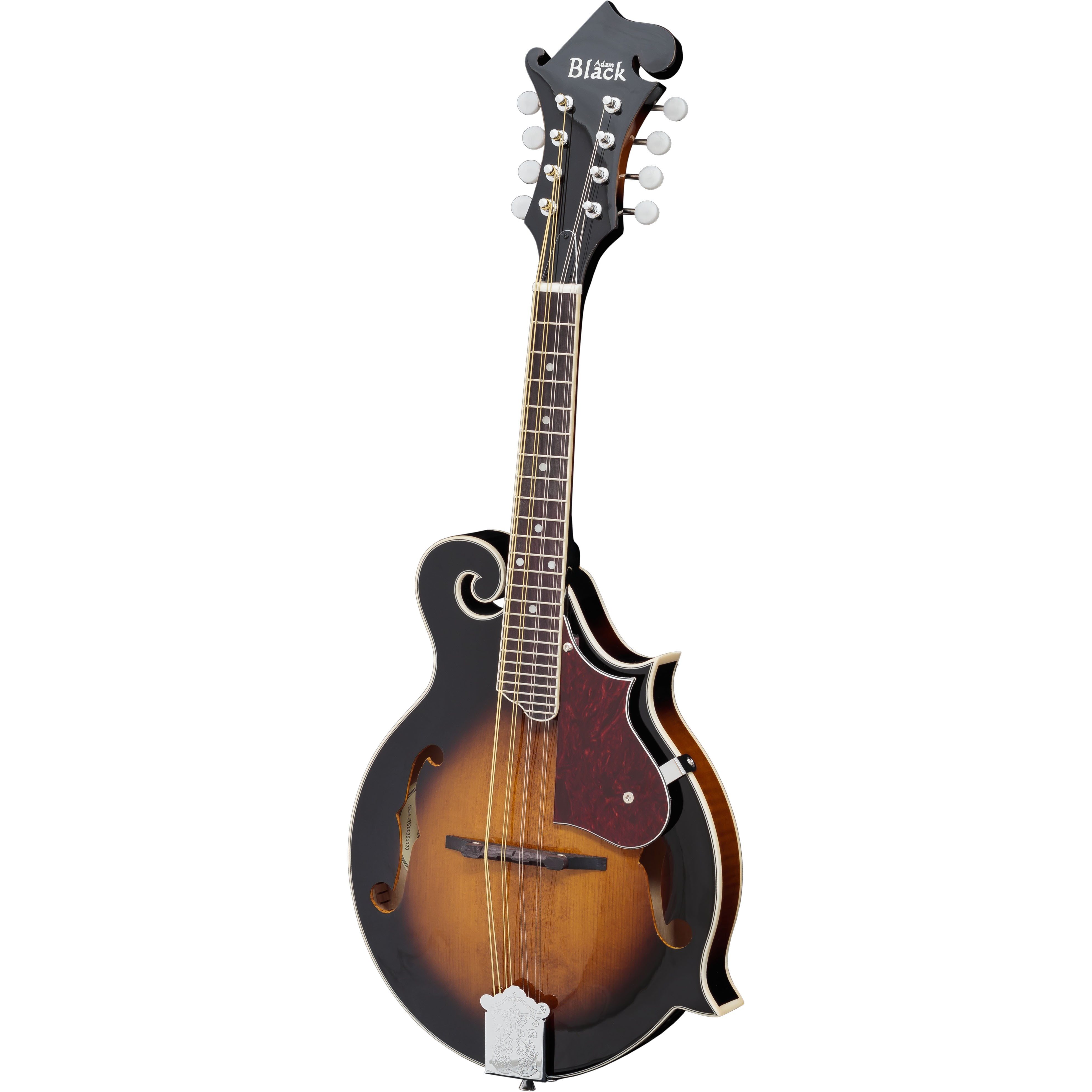 Adam Black MA-04 F-Style Scroll Mandolin with Gigbag - Vintage Sunburst