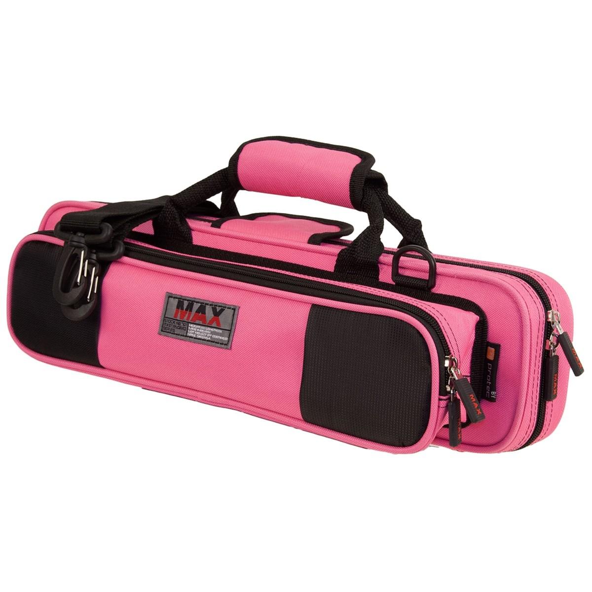 Protec Flute MAX Case (Fuchsia/Pink MX308FX)