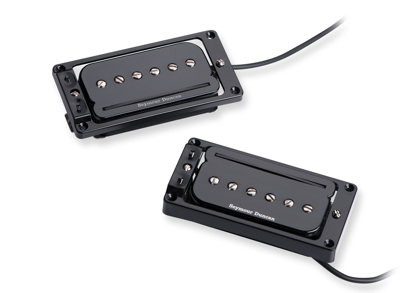 Seymour Duncan P-Rails with Triple Shot Set - Arched Mounting Rings