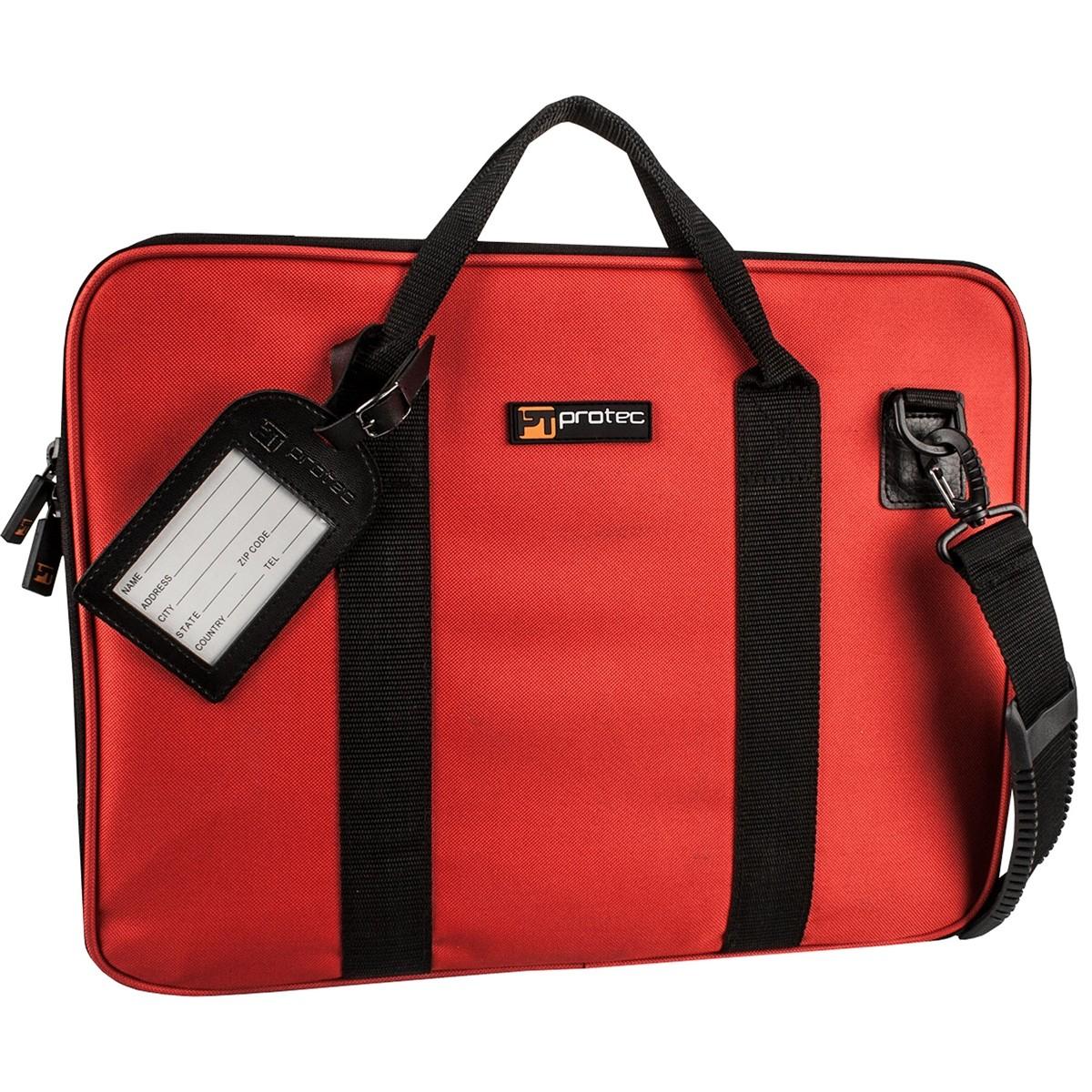 Protec Slim Portfolio Bag (Red P5RX)
