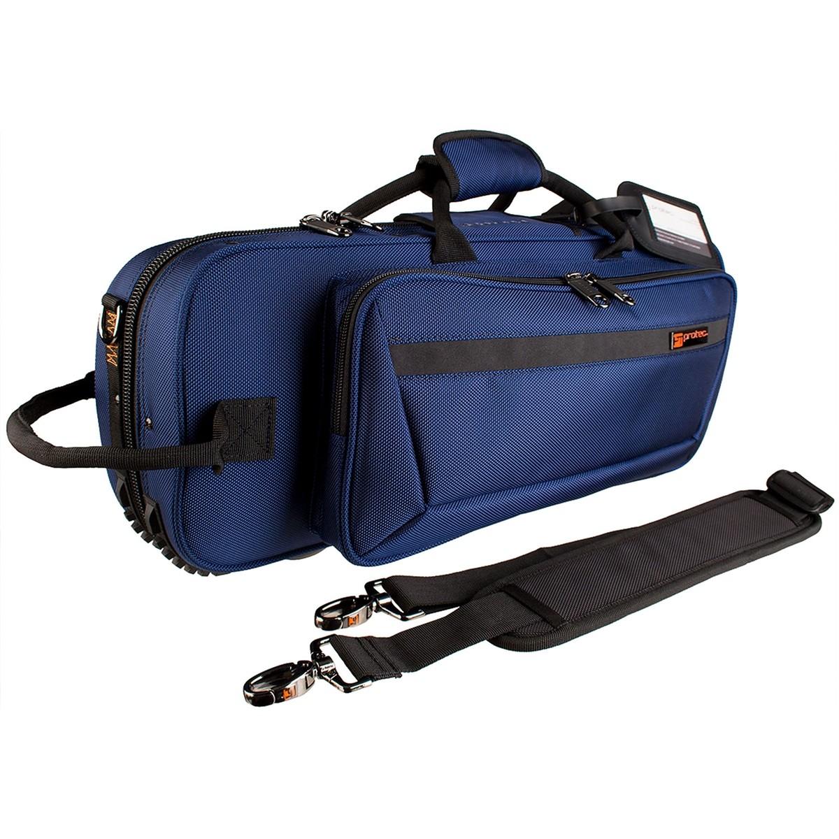 Protec Trumpet PRO PAC Case – Contoured (Blue PB301CTBX)