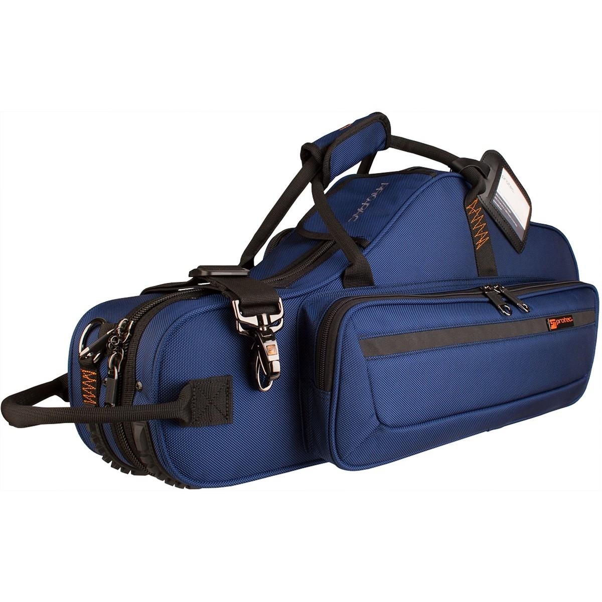 Protec Alto Saxophone PRO PAC Case – Contoured (Blue PB304CTBX)