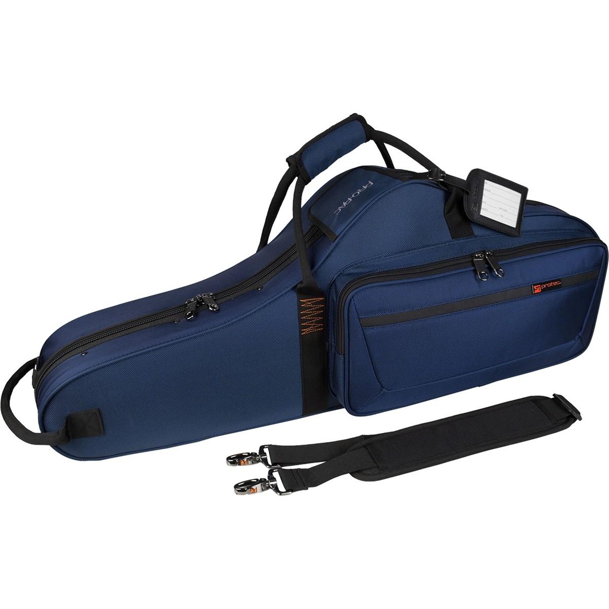 Protec Tenor Saxophone PRO PAC Case – Contoured (Blue PB305CTBX)