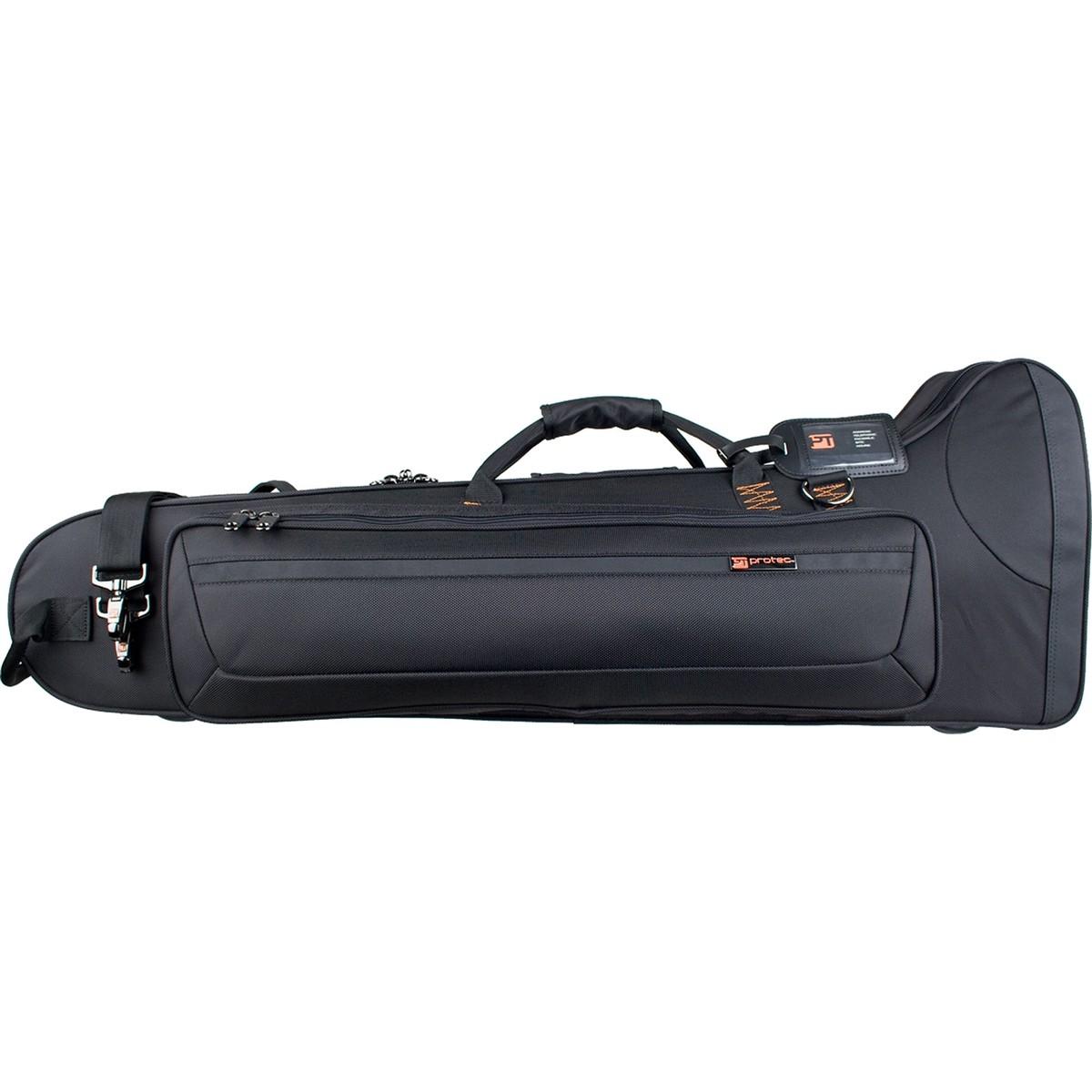 Protec Tenor Trombone PRO PAC Case – Contoured (Black PB306CT)