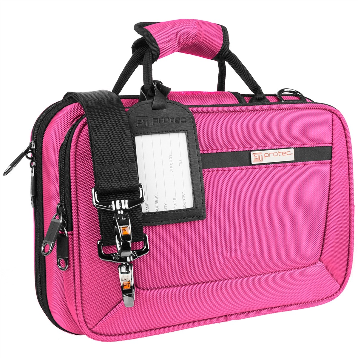 Protec Bb Clarinet PRO PAC Case – Slimline (Hot Pink PB307HP)