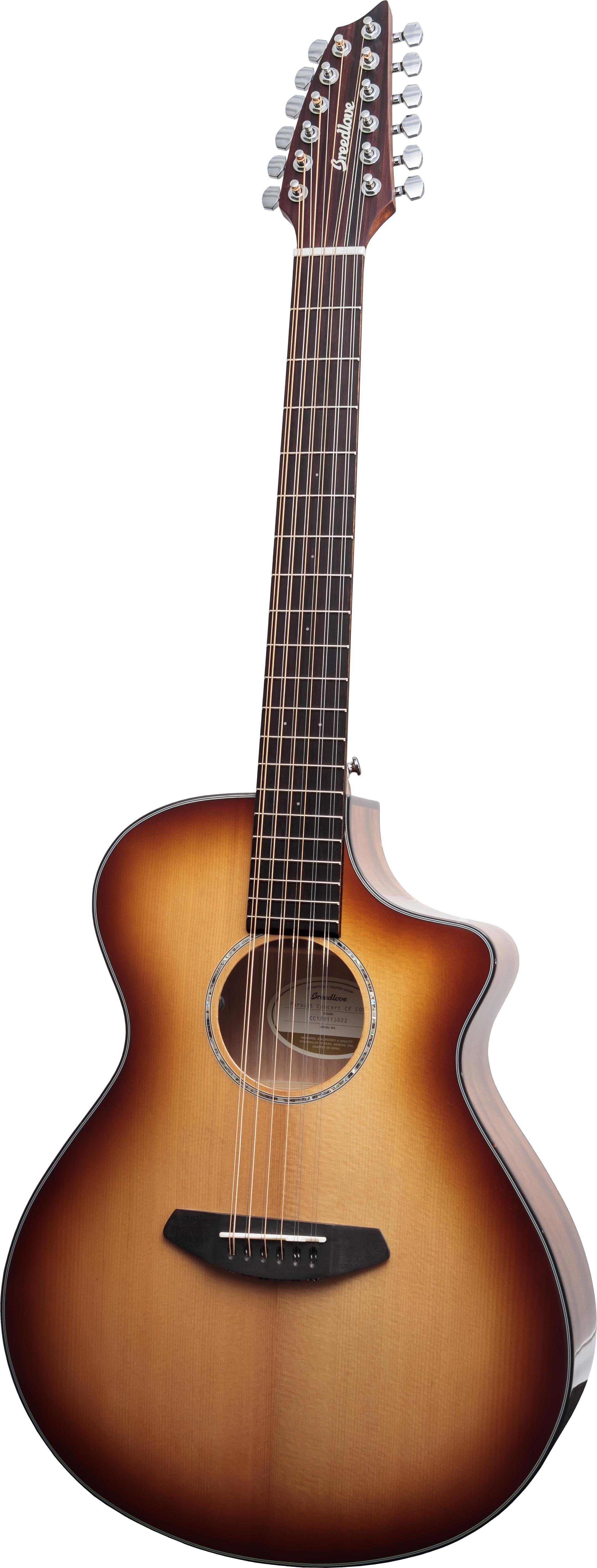 Breedlove Pursuit Concert Copper 12-String CE