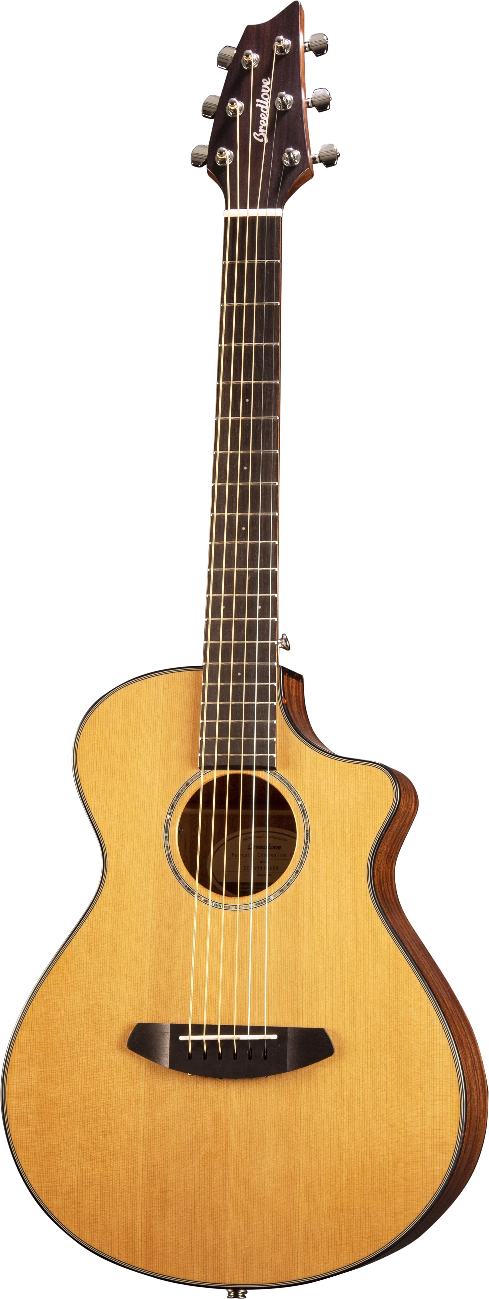 Breedlove Pursuit Companion CE - Red Cedar/Mahogany (Travel)