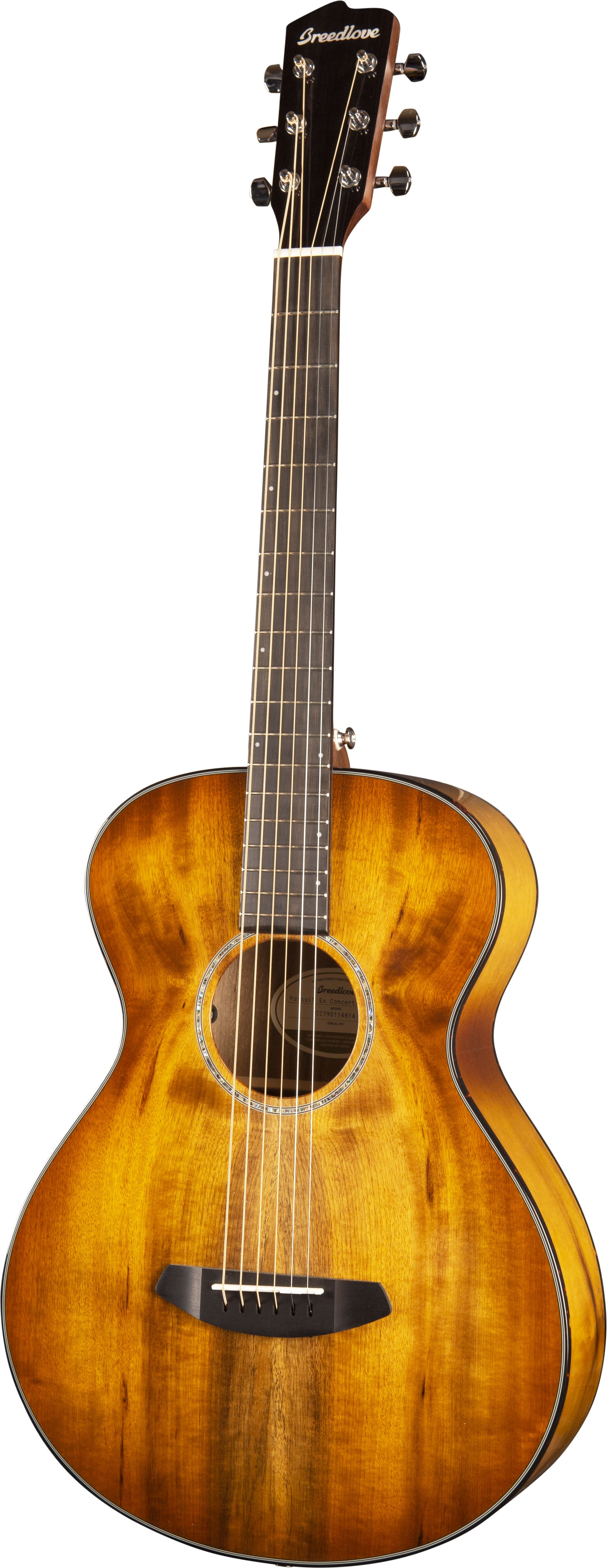 Breedlove Pursuit Exotic Concertina Prairie Burst E