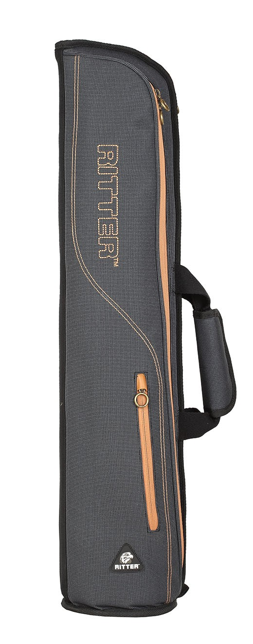 Ritter RBS7-F/MGB Flute Bag - Misty Grey/Brown