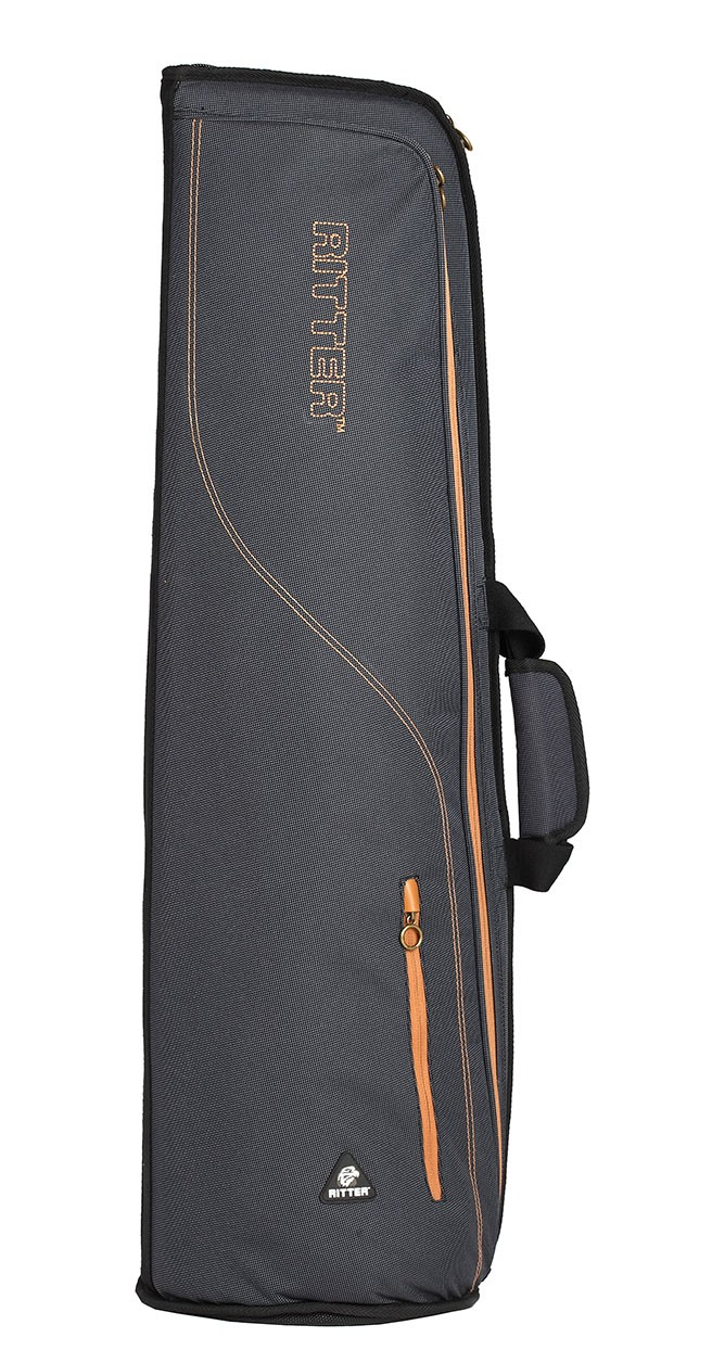 Ritter RBS7-TB/MGB Trombone Bag - Misty Grey/Brown