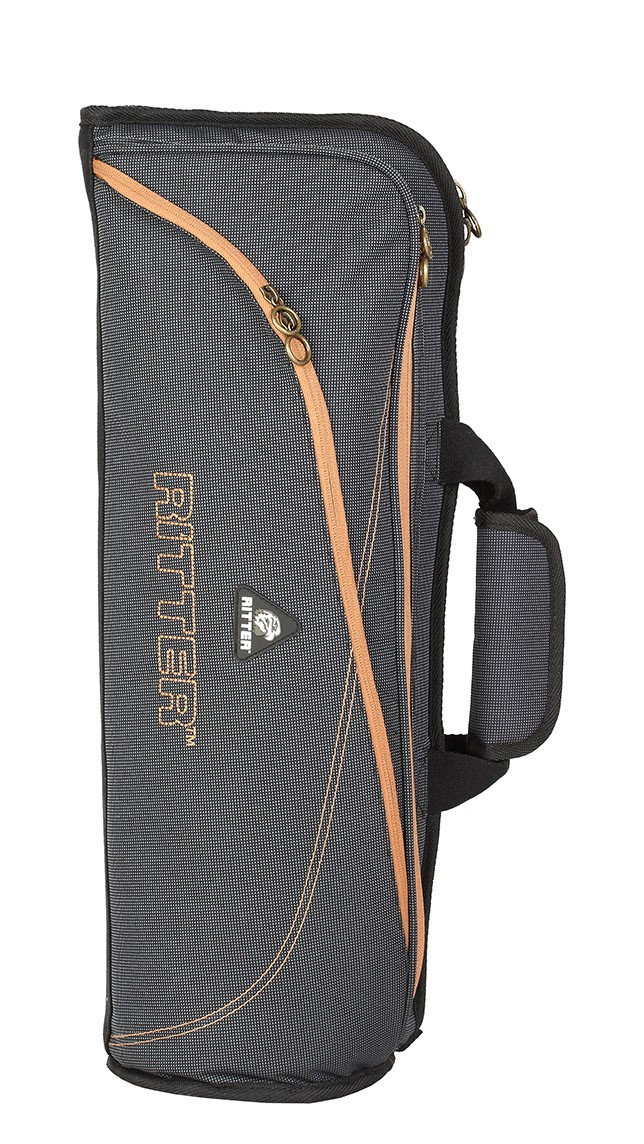 Ritter RBS7-TR/MGB Trumpet Bag - Misty Grey/Brown