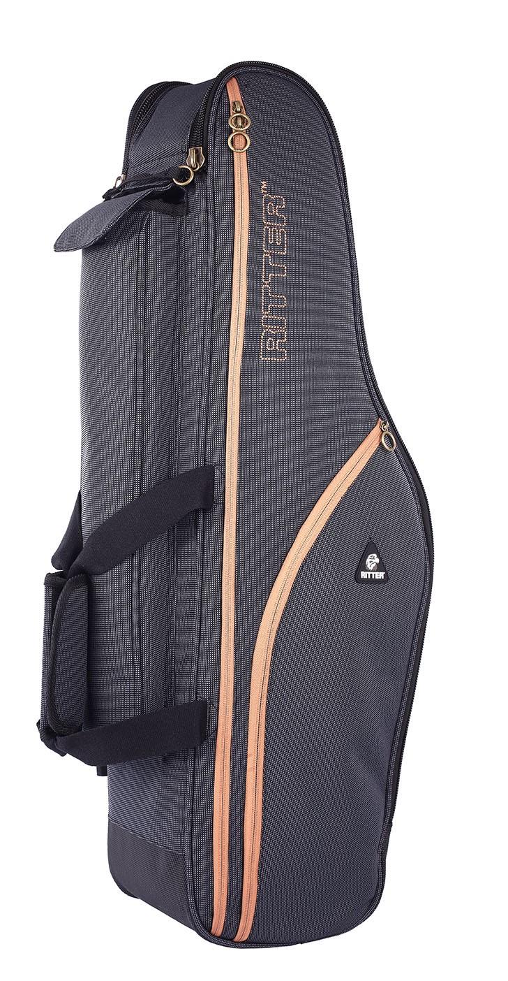 Ritter RBS7-TS/MGB Tenor Sax Bag - Misty Grey/Brown