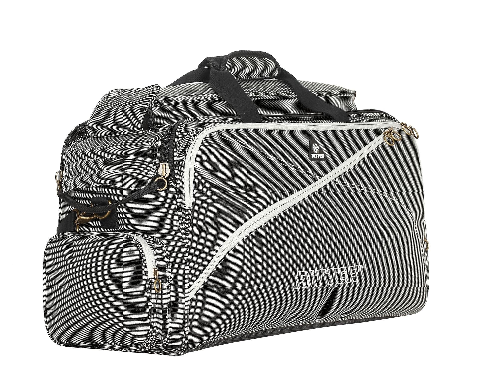 Ritter RBS7-TTR/SGL Triple Trumpet Bag - Silver Grey/Moon