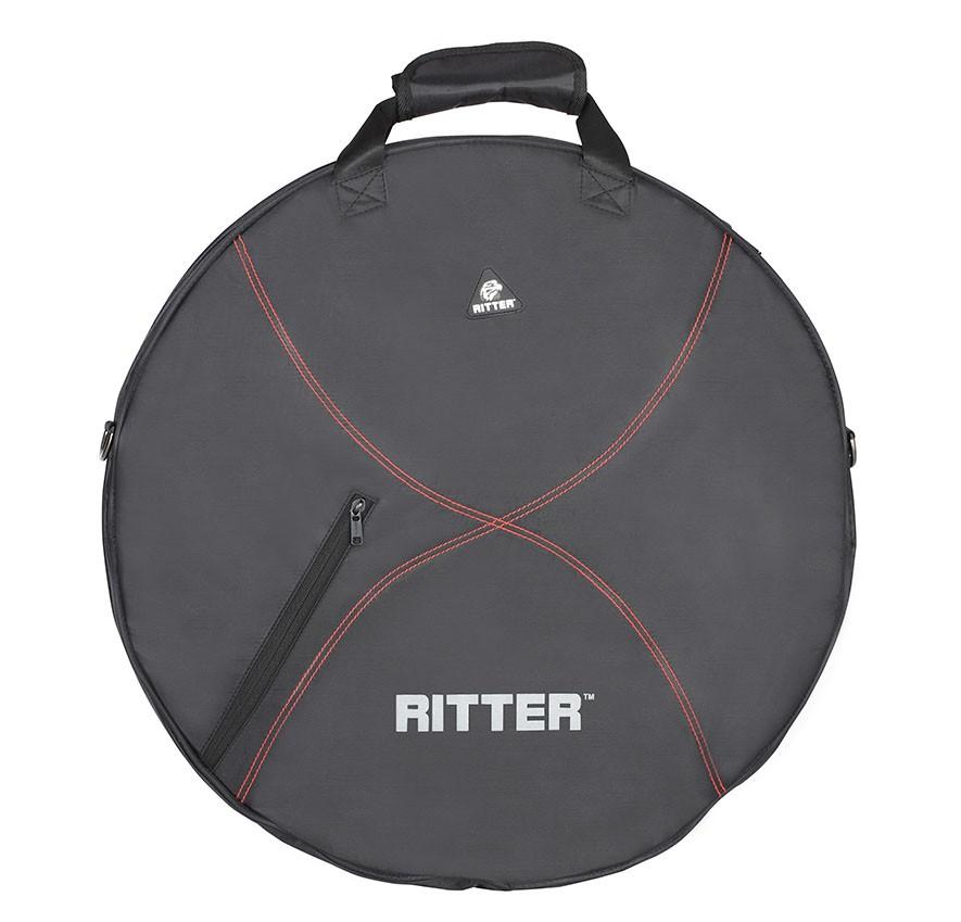 Ritter RDP2-C/BRD Cymbal Bag - Black/Red