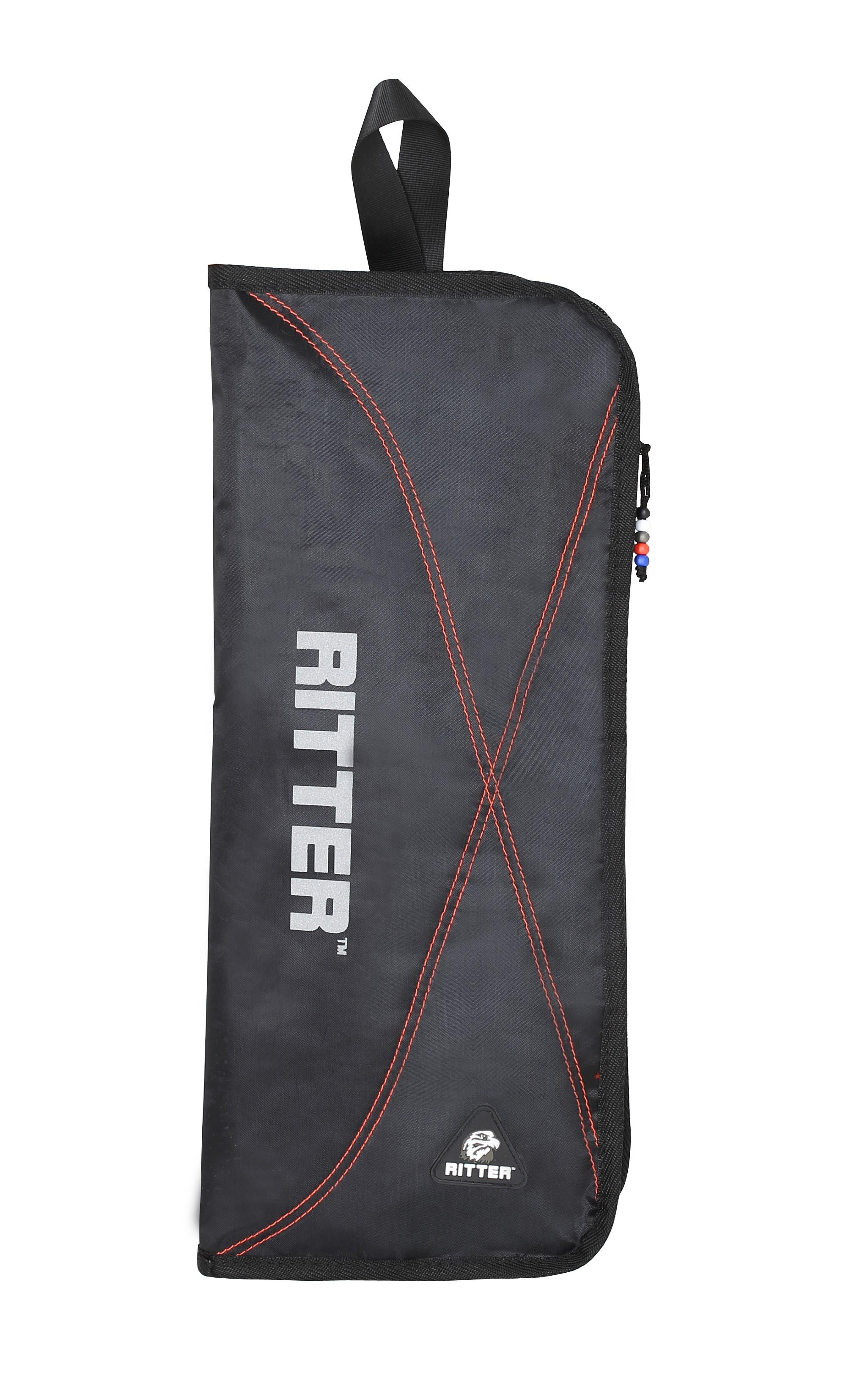 Ritter RDP2-S/BRD Stick Bag - Black/Red