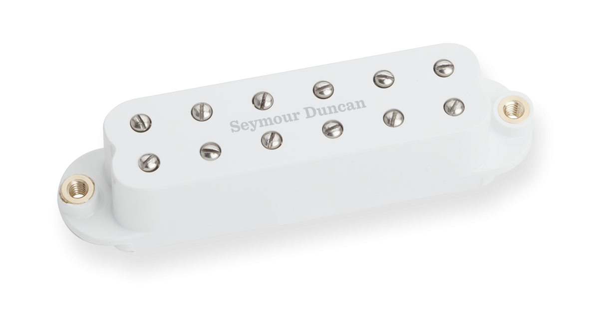 Seymour Duncan Billy Gibbons' Red Devil - Bridge White
