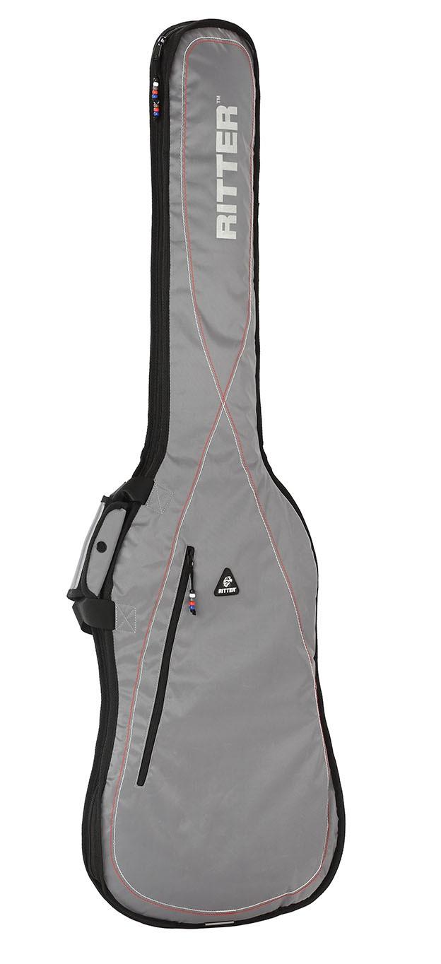 Ritter RGP2-B/SRW Bass Bag - Silver Grey/White
