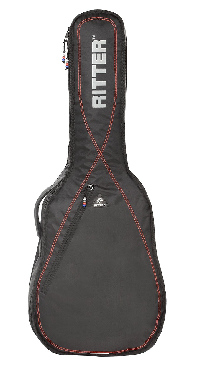Ritter RGP2-CT/BRD 3/4 Classical Bag - Black/Red