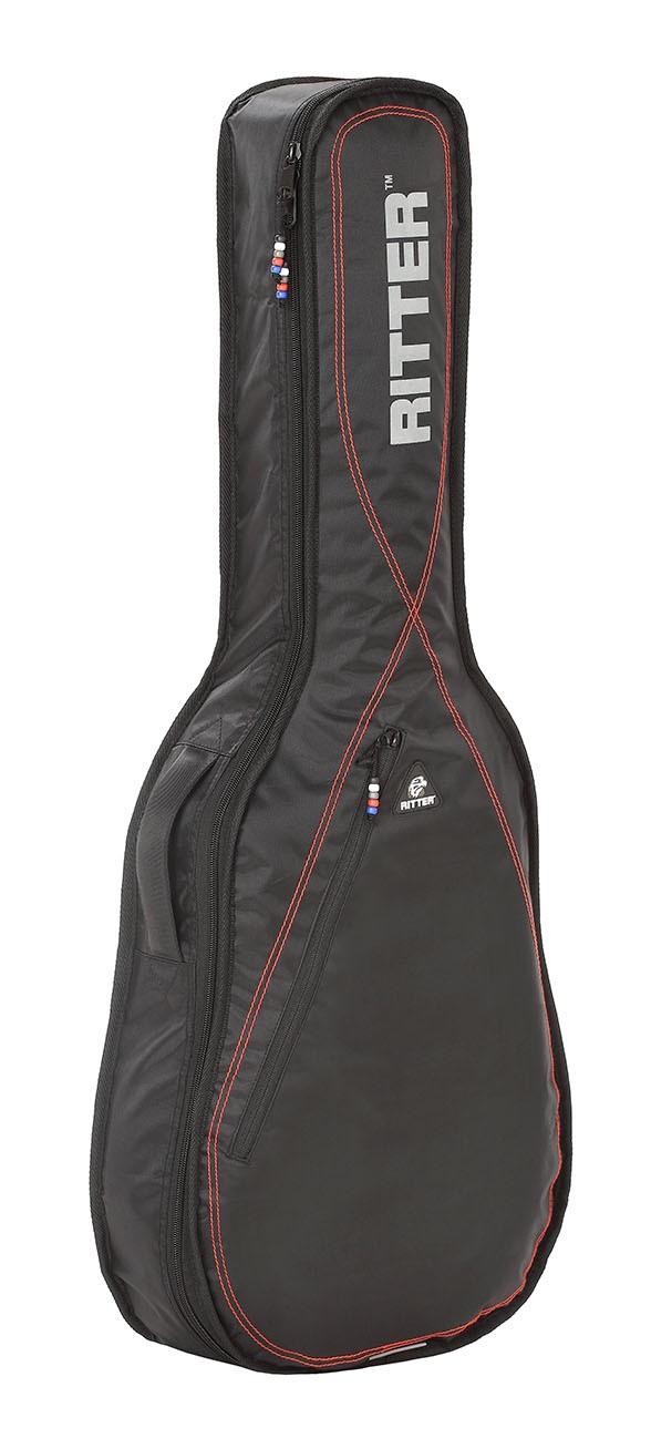 Ritter RGP2-CH/BRD 1/2 Classical Bag - Black/Red