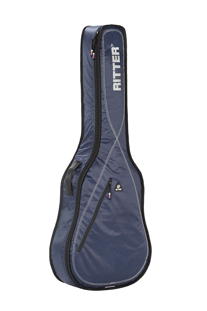 Ritter RGP2-D/BLW Dreadnought Acoustic Bag - Navy/Light Grey/White
