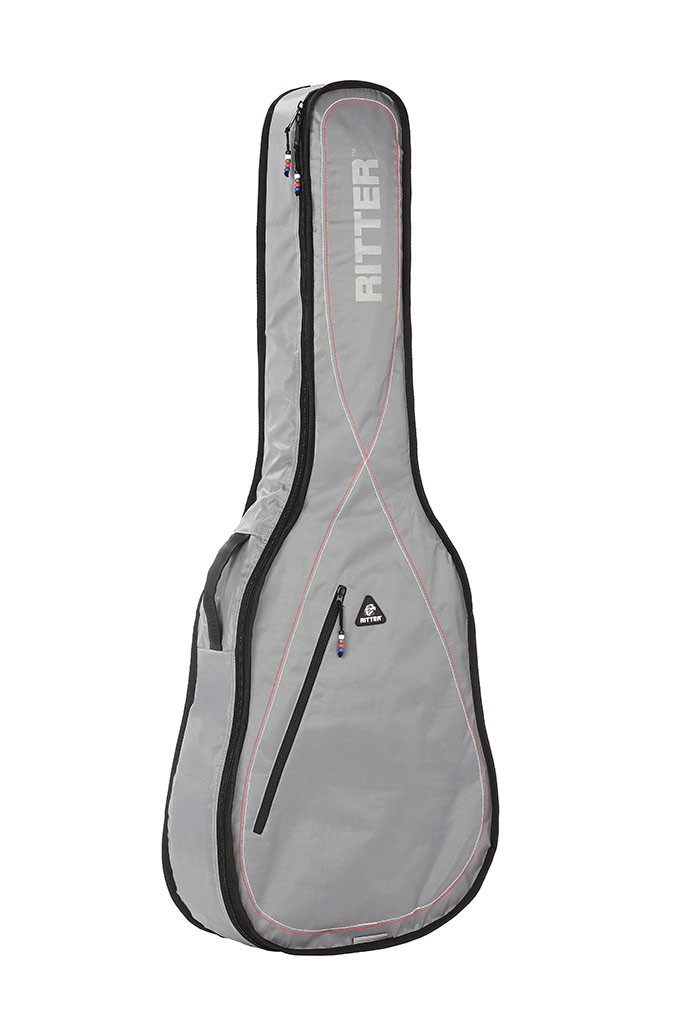 Ritter RGP2-D/SRW Dreadnought Acoustic Bag - Silver Grey/White