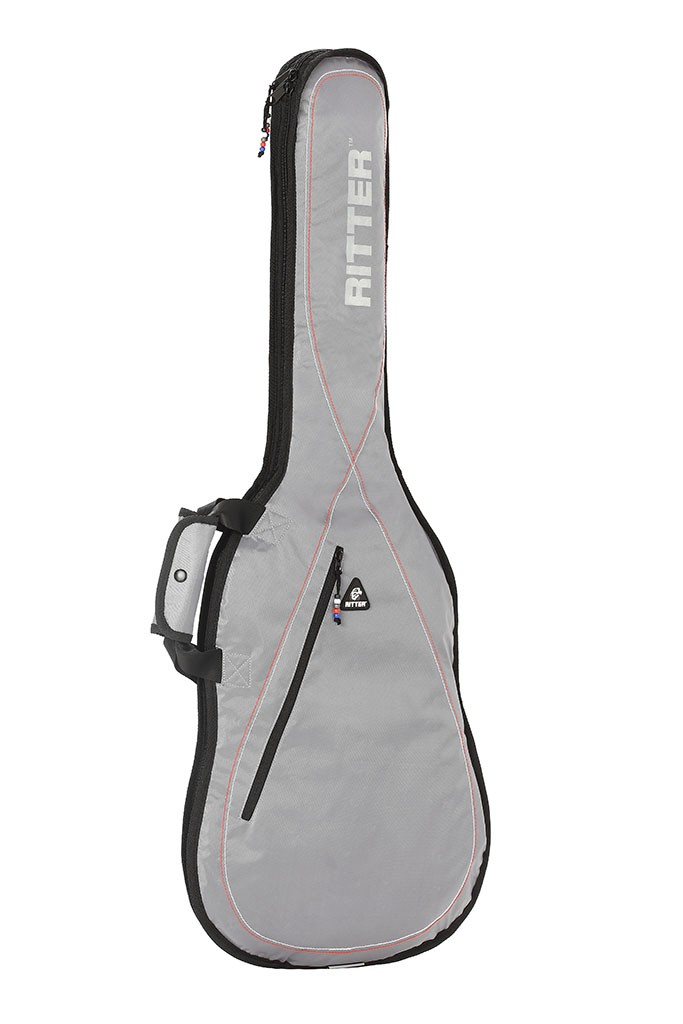 Ritter RGP2-E/SRW Electric Guitar Bag - Sliver Grey/White