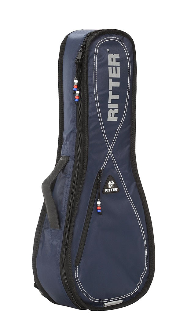 Ritter RGP2-UB/BLW Baritone Ukulele Bag - Navy/Light Grey/White