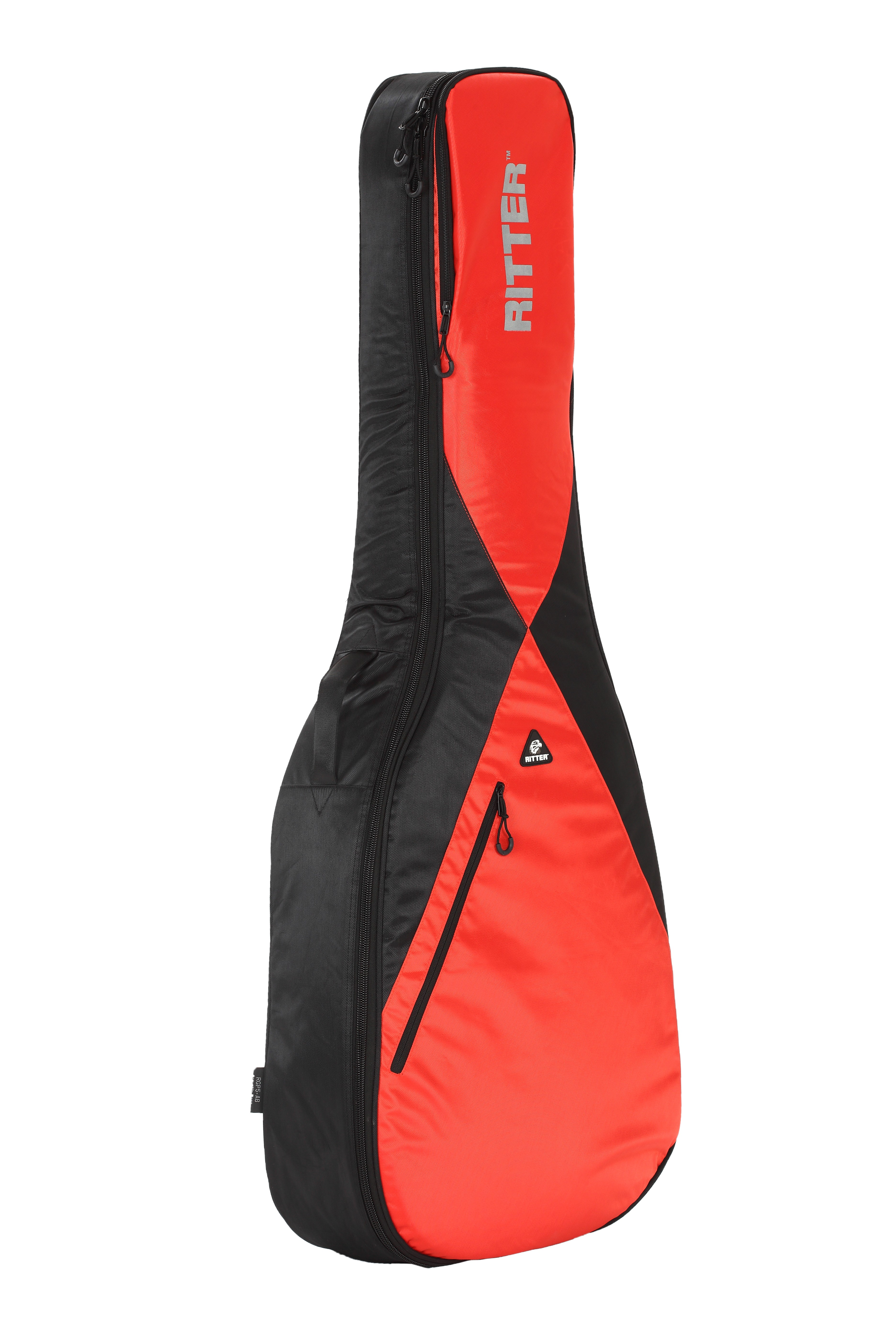 Ritter RGP5-AB/BRR Acoustic Bass Bag - Black/Racing Red