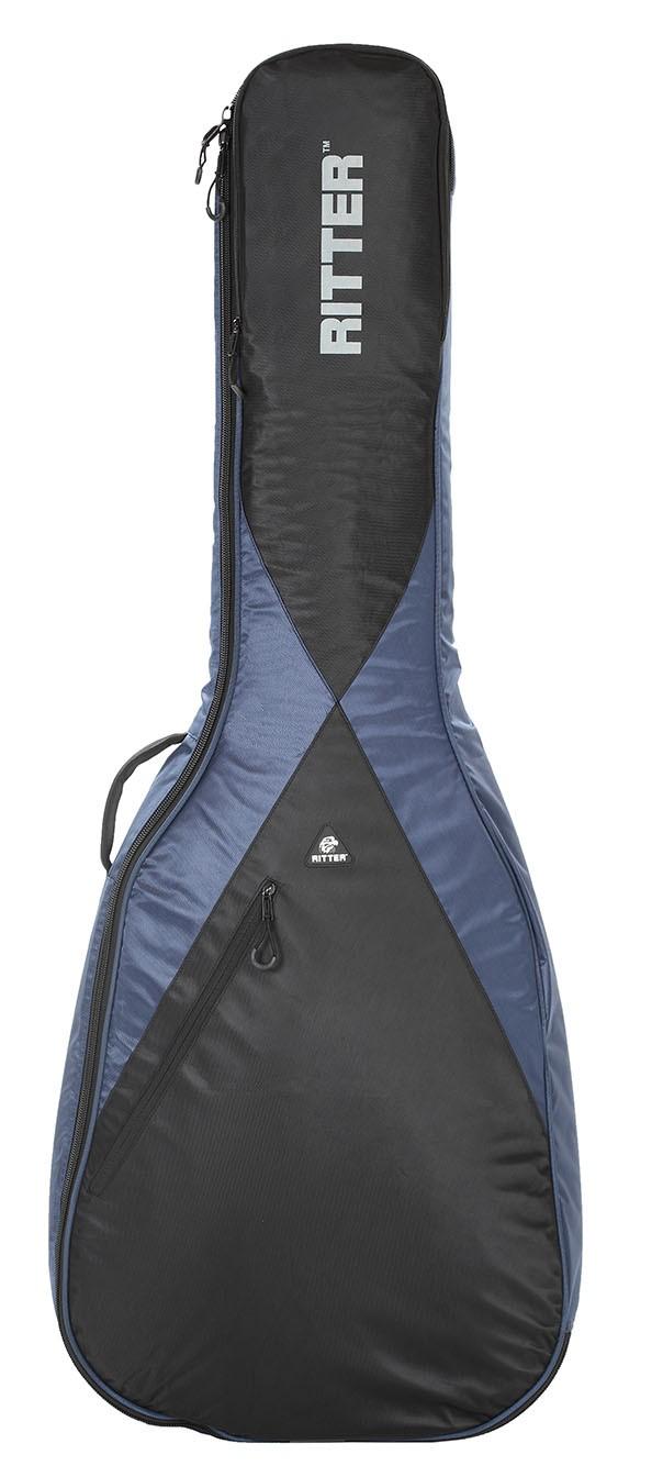 Ritter RGP5-AB/NBK Acoustic Bass Bag - Navy/Black