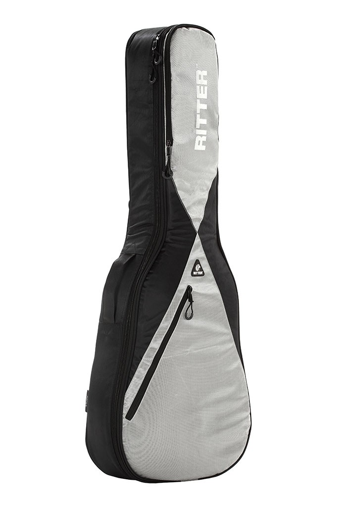 Ritter RGP5-C/BSG 4/4 Classical Guitar Bag - Black/Silver/Grey