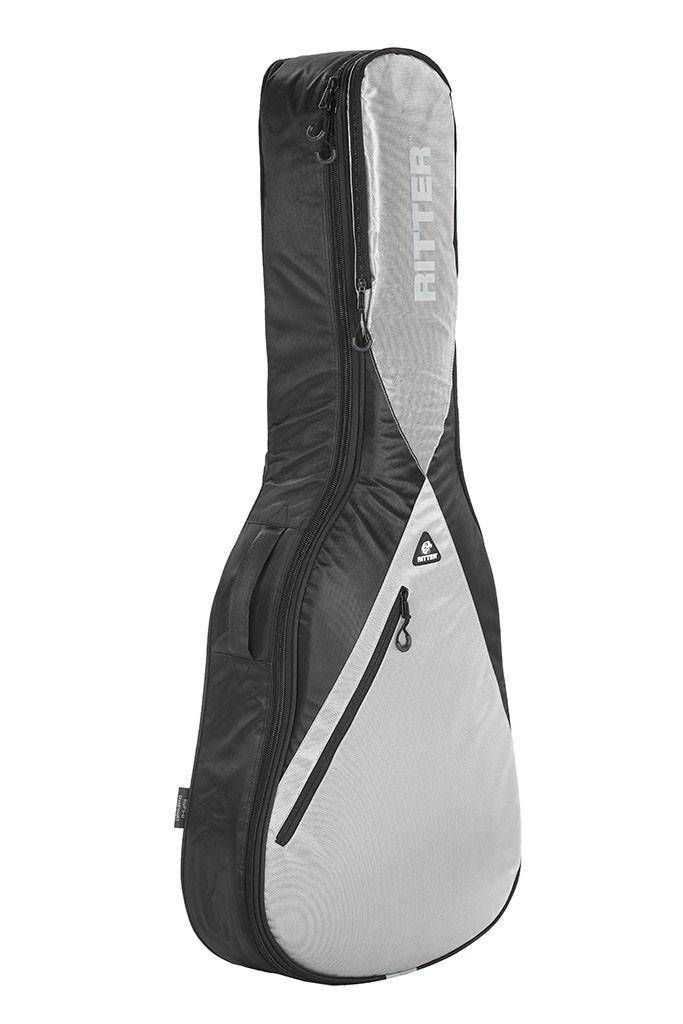 Ritter RGP5-F/BSG Folk Acoustic Guitar Bag -Black/Silver Grey