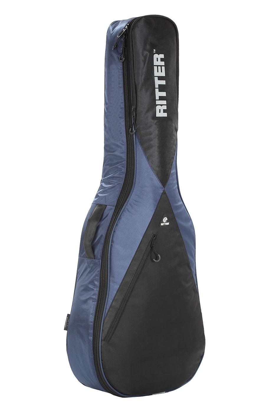 Ritter RGP5-F/NBK Folk Acoustic Guitar Bag - Navy/Black