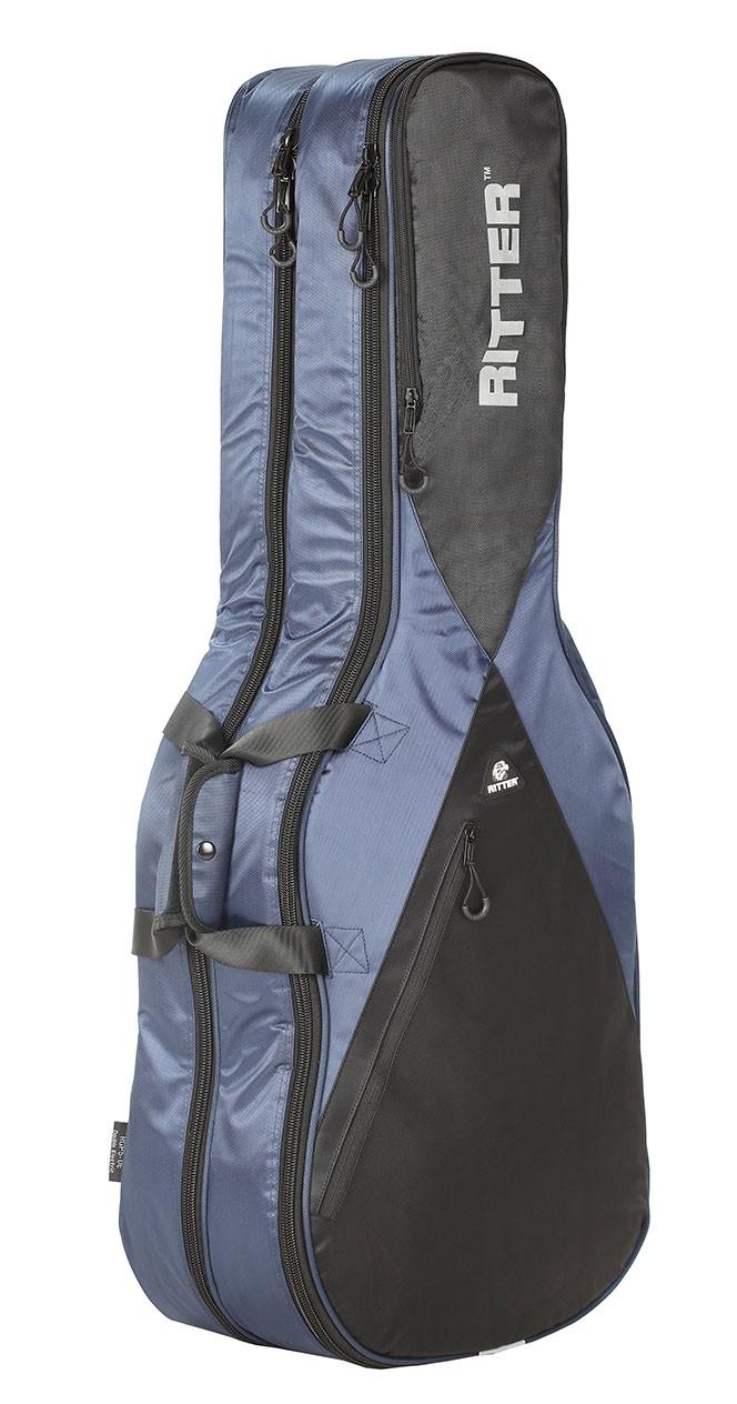 Ritter RGP5-DE/NBK Double Electric Guitar Bag - Navy/Black