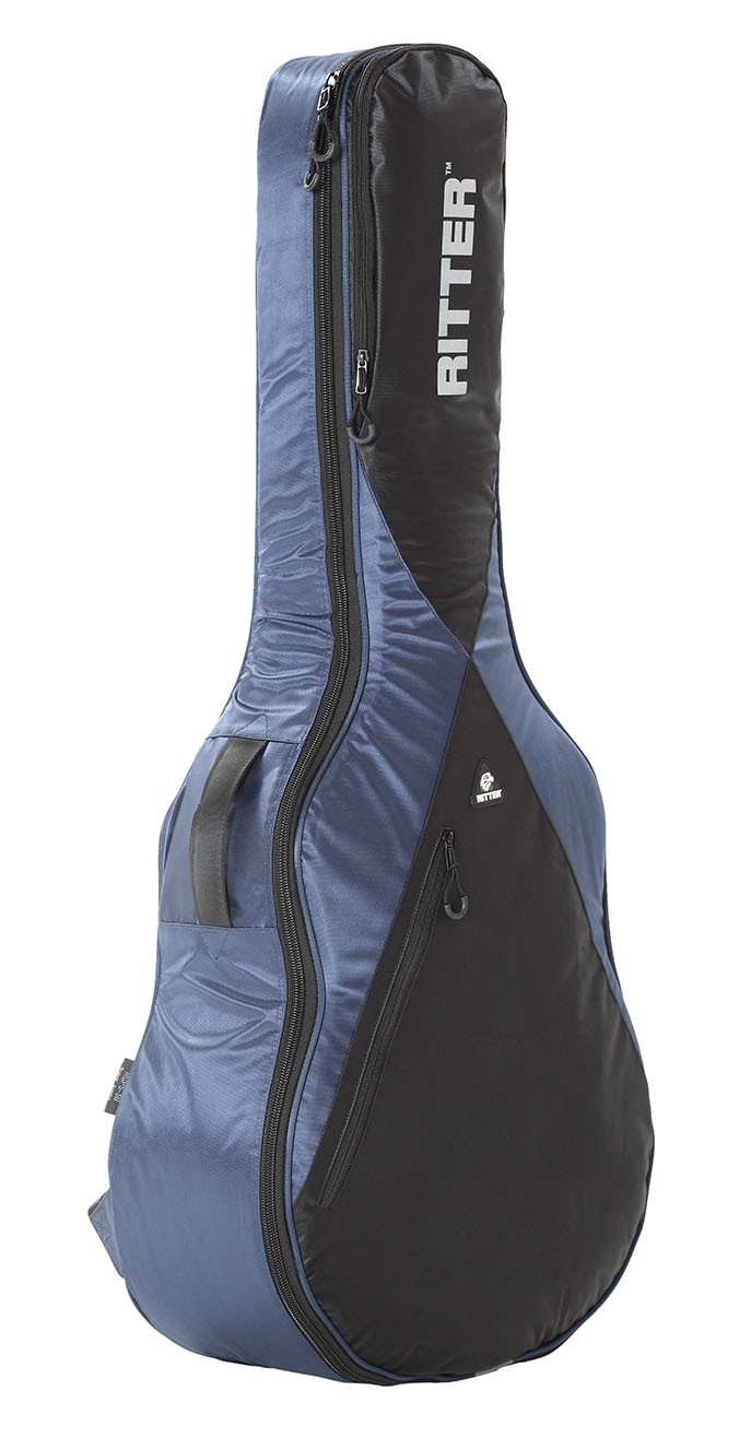 Ritter RGP5-SB/NBK Super Jumbo Acoustic Bag - Navy/Black