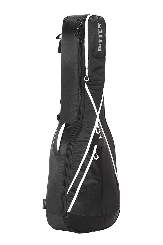 Ritter RGP8-F/BKW Folk Acoustic Guitar Bag - Black/White