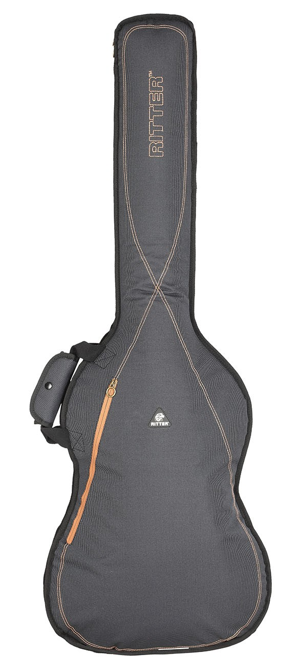Ritter RGS3-B/MGB Bass Guitar Bag - Misty Grey/Brown