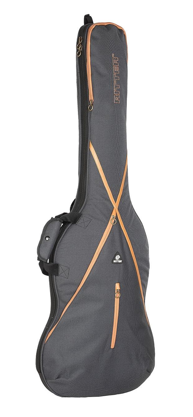Ritter RGS7-B/MGB Bass Guitar Bag - Misty Grey/Brown