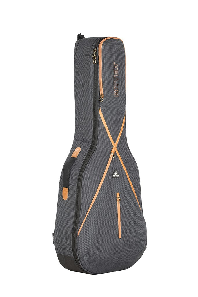 Ritter RGS7-D/MGB Dreadnought Acoustic Guitar Bag - Misty Grey/Brown