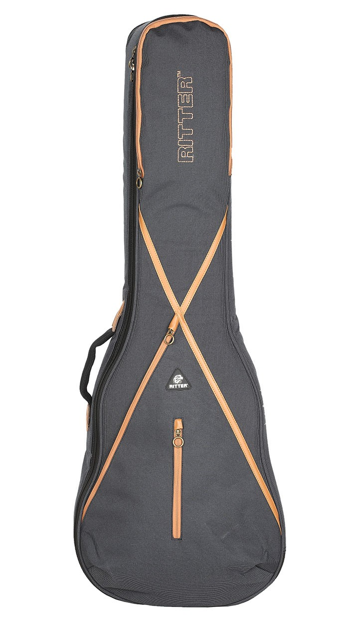 Ritter RGS7-L/MGB LP Style Guitar Bag - Misty Grey/Brown