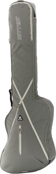 Ritter RGS7-TBB/SGL Thunderbird Style Bass Guitar Bag - Silver Grey/Moon