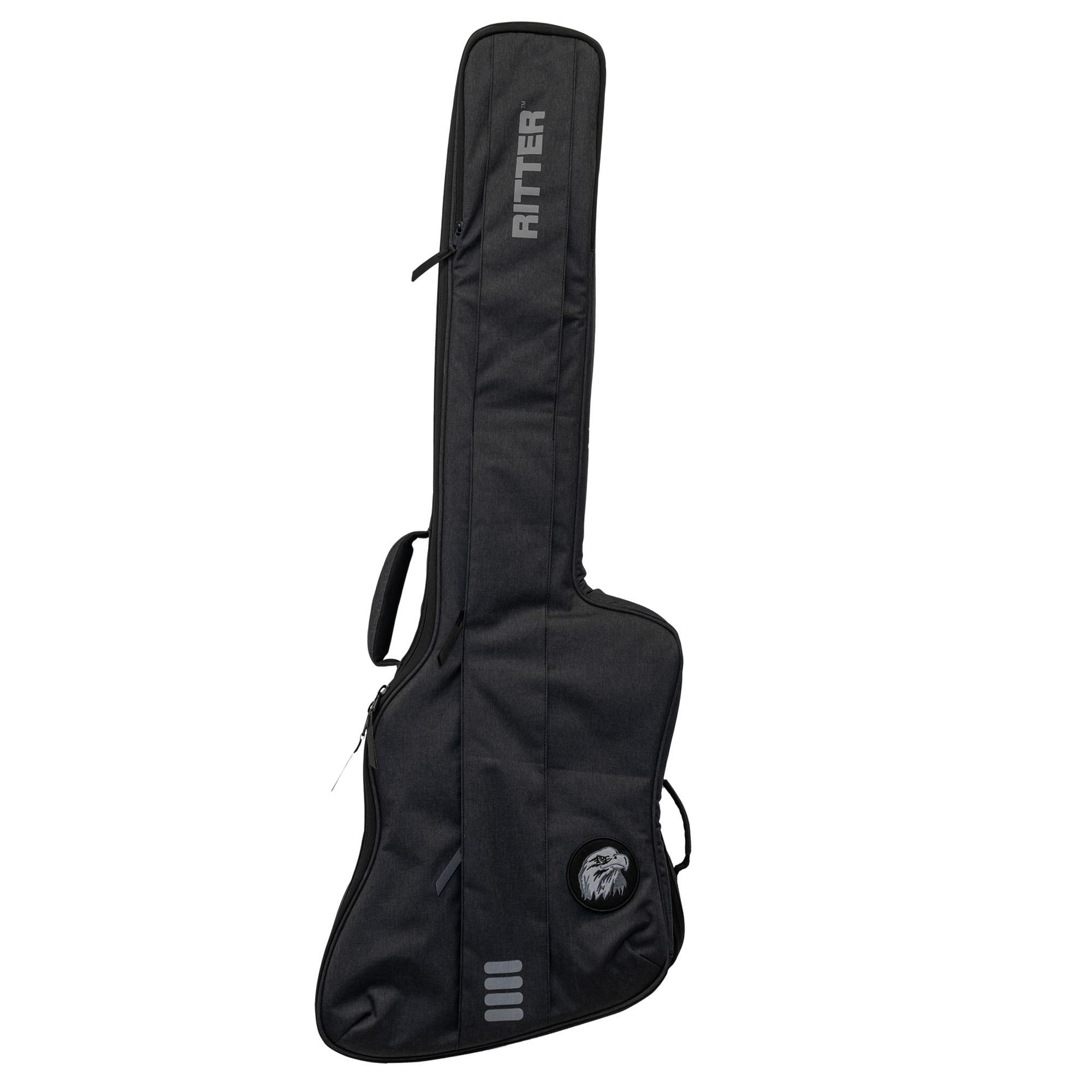 Ritter Bern Thunderbird Style Bass Guitar Bag - Anthracite (RGB4-TBB)