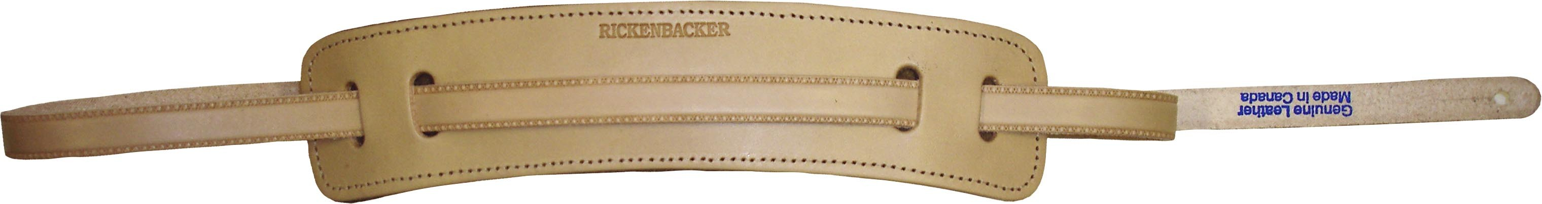 Rickenbacker Natural Leather Guitar Strap