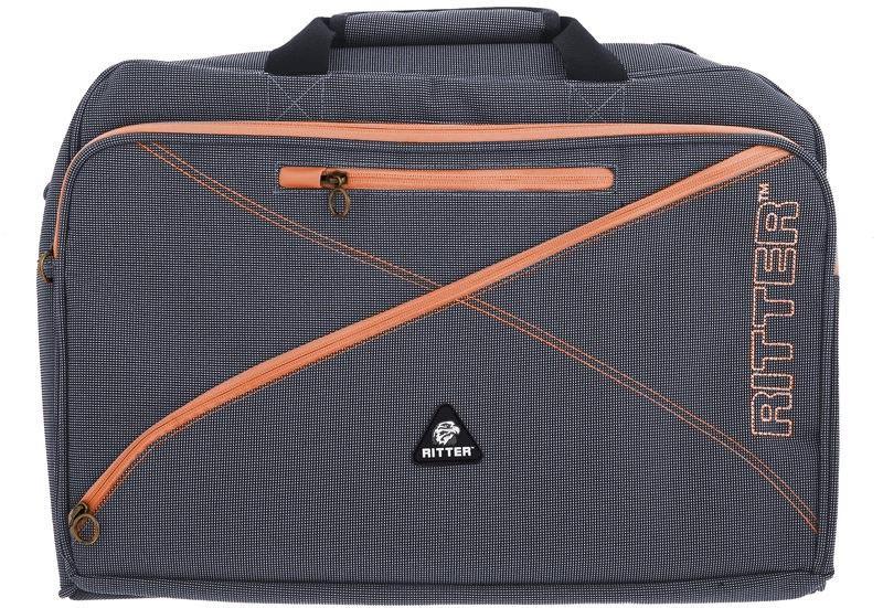 Ritter RBS7-F/MGB Flute Bag - Misty Grey/Brown