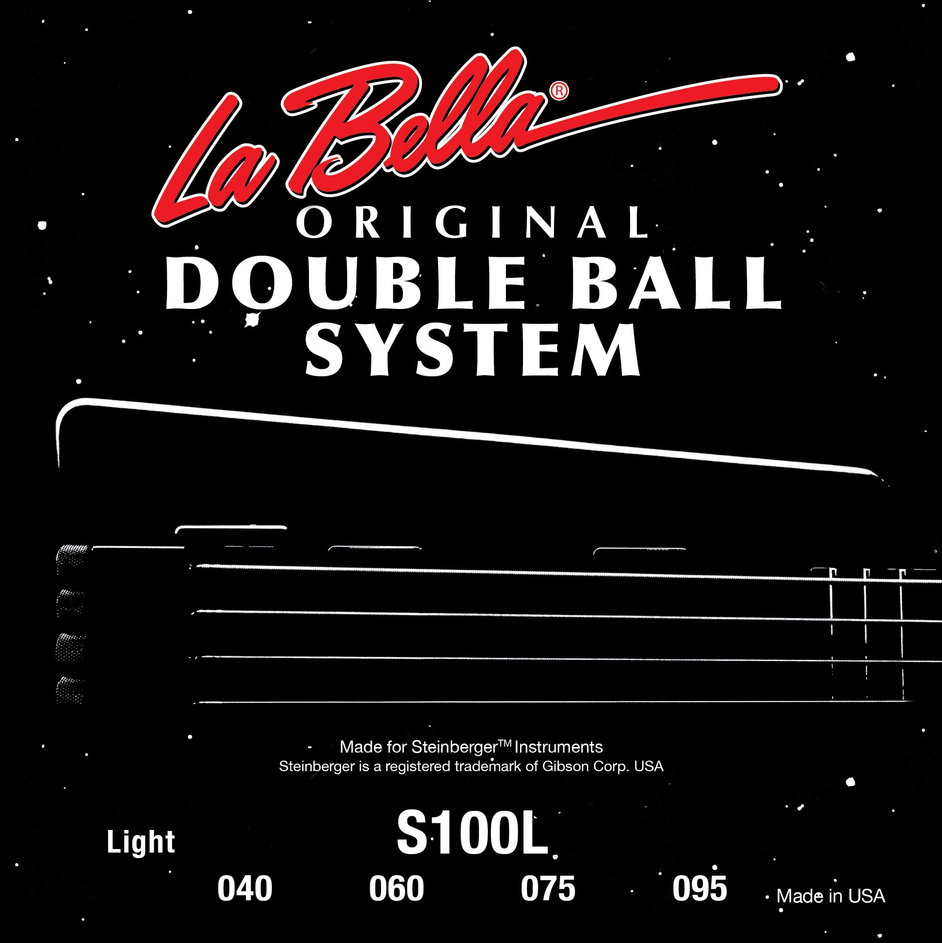 La Bella Bass Guitar Strings - Double Ball System