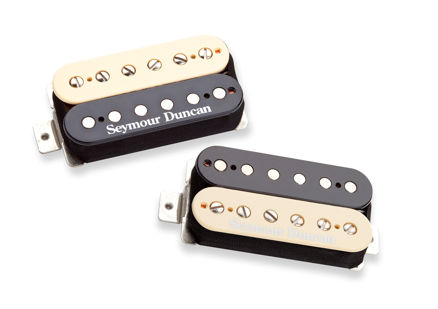 Seymour Duncan Hot Rodded Humbucker Set - Zebra
